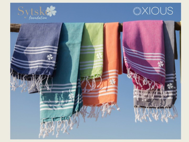 Oxious Hamamtowels for Sytske Foundation,  Proceeds so far: € 450