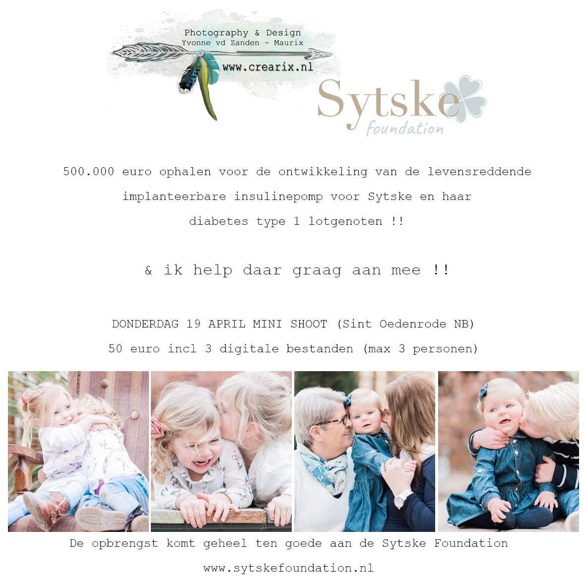 Fotoshoot Crearix for Sytske