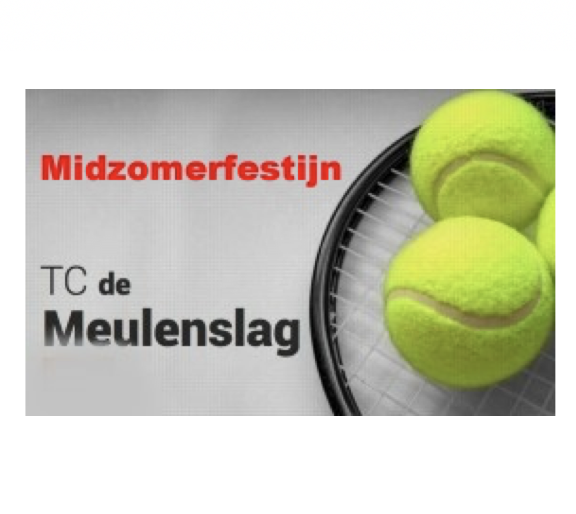 Midsummerfest TC De Meulenslag; Proceeds € 2.400! Big Thanks!