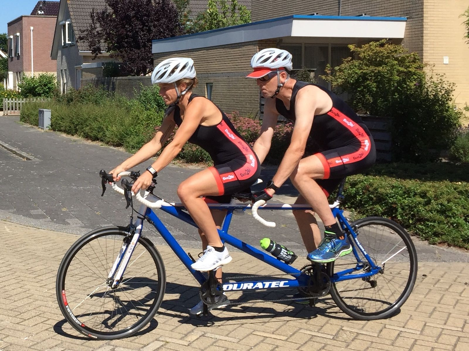 My first triathlon! Proceeds €220! Well done!