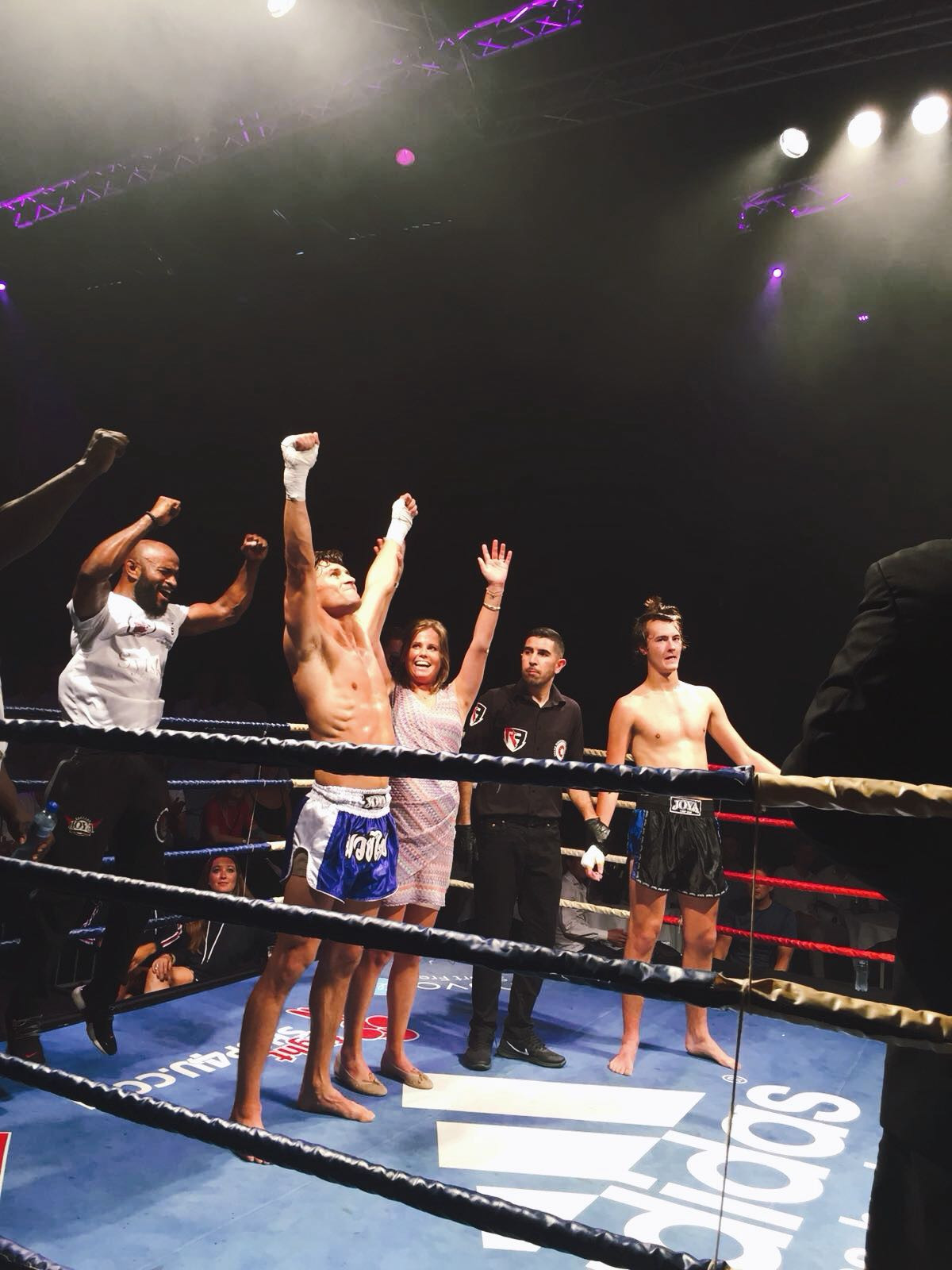 Duco Fights for Sytske and wins!