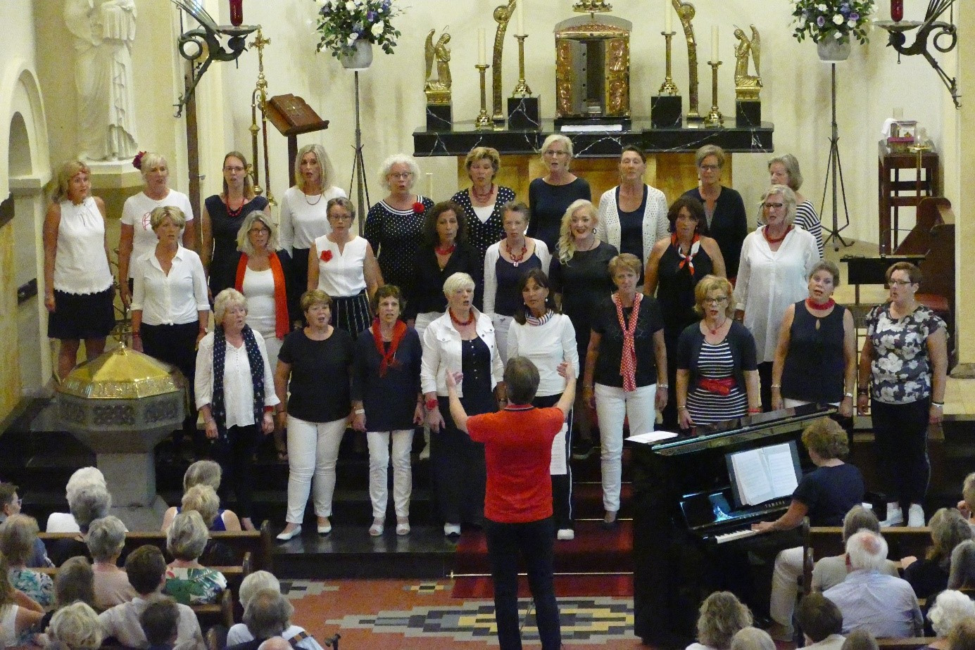 Espreszo Theaterchoir sings 'Battle for Freedom' for Sytske Foundation, proceeds: € 1.000!