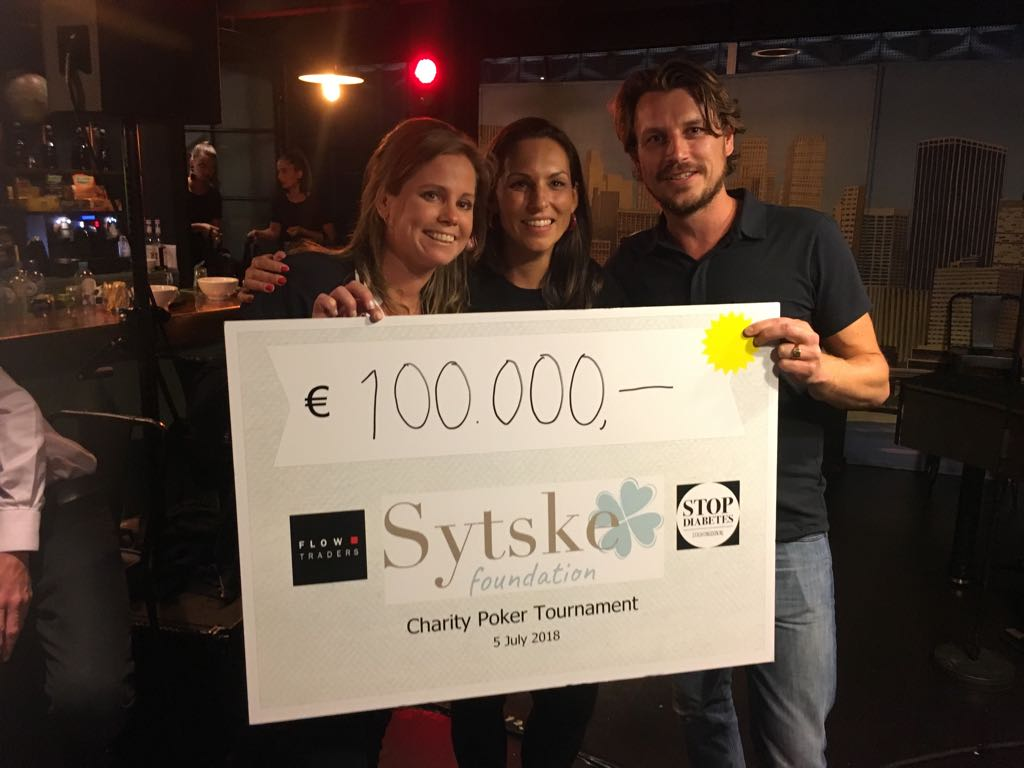 WHAT A NIGHT! Pokertournament for Sytske Foundation! Proceeds: €100.000!!