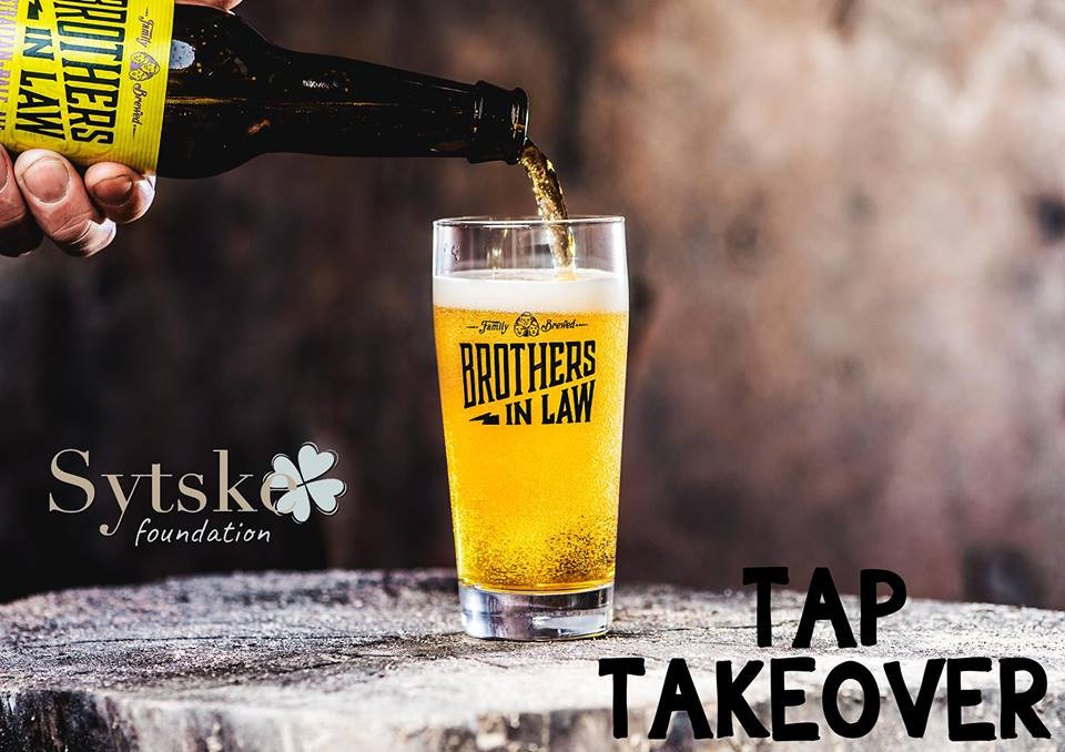 TAP take over Brothers-in-Law Brewing for Sytske: Total amount € 162 ! Thank you very much!